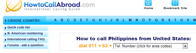 Call-abroad-query